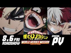 Boku No Hero Academia World Heroes Mission Sub Espanol Hd Veranime Top