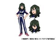 Setsuna Tokage TV Animation Design Sheet