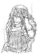 Shota Aizawa Sketch by Betten Court