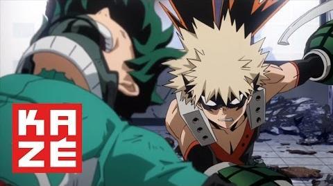 My Hero Academia - Izuku Midoriya Vs Katsuki Bakugo