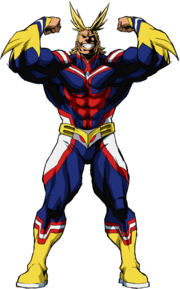 All Might Hero Form Full Body.png