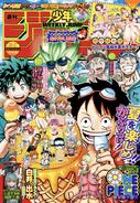 Weekly Shonen Jump Issue 36-37 2020