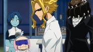 Everyone visits Sir Nighteye (anime)