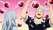 Mirio tells Eri about candy apples