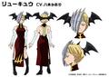 Ryuko Tatsuma TV Animation Design Sheet