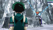 Yuga demonstrates his Navel Buffet Laser