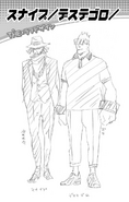 Volume 3 (Vigilantes) Snipe and Death Arms Profile