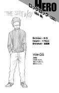 Volume 15 Ken Takagi's Profile