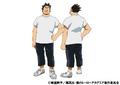 Rikido Sato Casual TV Animation Design Sheet