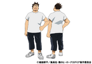 Rikido Sato Casual TV Animation Design Sheet