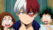 Shoto says he worked hard on his room