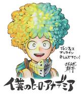 Deku Jump Festa 2021 Sketch