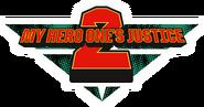 My Hero One's Justice 2 English Logo