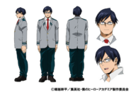 Tenya Ida TV Animation Design Sheet