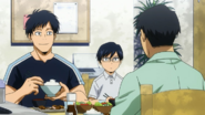 Young Tenya and his brother Tensei