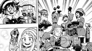 Class 1-A giving each other presents