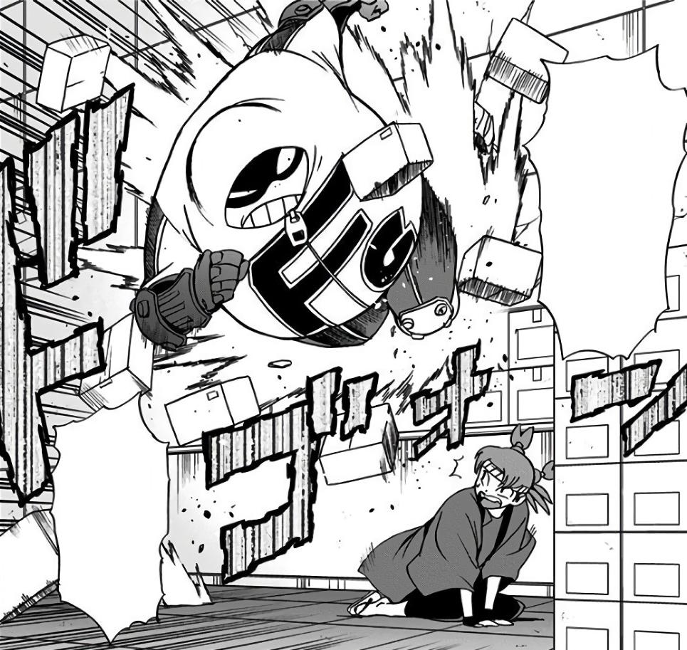 Taishiro Toyomitsu & Police Force vs. Number 6