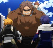 Jurota with his Beast Quirk activated
