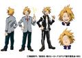 Denki Kaminari TV Animation Design Sheet