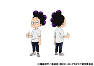 Minoru Mineta Casual TV Animation Design Sheet