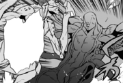 Kirihito Kamachi attacks Octoid.png