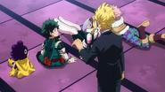 Toshinori wants to talk privately with Izuku (Anime)