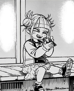 Himiko as a child
