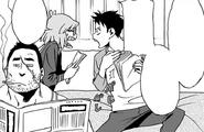 Koichi and Kazuho bicker