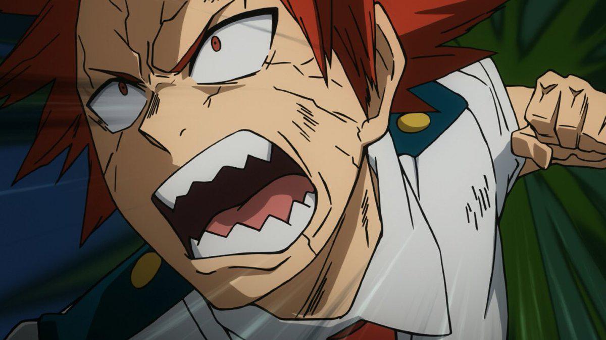 Eijiro attacks a dirt monster.png