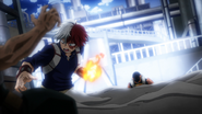 Juzo sinks Shoto into the ground