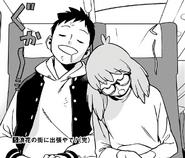 Koichi and Kazuho sleeping