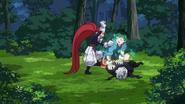 The Brava begged Izuku to release Gentle