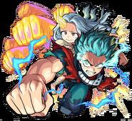 Izuku and Eri Full Cowl 100% - Monster Strike