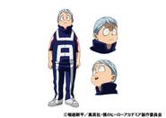 Nirengeki Shoda Animation Design Sheet