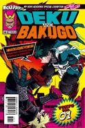Limited Comics Deku and Bakugo