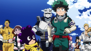 Class 1-A prepares for the test
