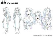 Eri Shading TV Animation Design Sheet