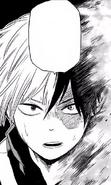 Shoto speaks to Izuku