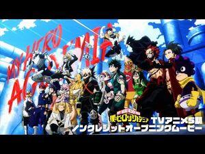 ヒロアカ5期OP-『僕のヒーローアカデミア』TVアニメ5期ノンクレジットオープニングムービー/OPテーマ-「No.1」DISH--