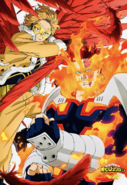 Endeavor and Hawks Official Poster Pash Magazine