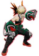 Katsuki Bakugo en My Hero One's Justice