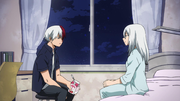 Shoto talking with his Mother in the hospital.png