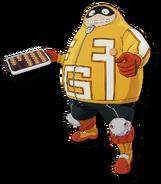 Fat Gum My Hero One Justice 2 Diseño