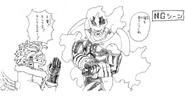 Volume 20 Enji and Keigo Sketch