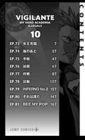 Volumen 10 (Illegals) tabla de contenido
