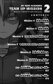Volume 2 (Team-Up Missions) Table of Contents