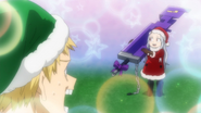 Mashirao is shocked to see Eri with a sword