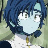 Bubble Girl Portrait (Anime)