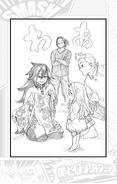 Nemuri with Eri and Mirio