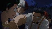 Izuku explains his plan to rescue Katsuki